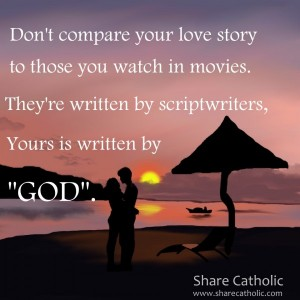 Your love story is written by God.