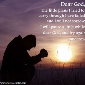 Dear God, please help me to keep going