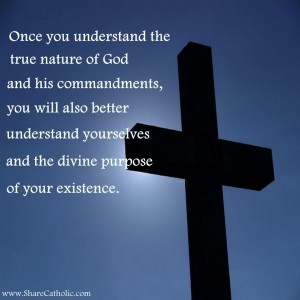 Once you understand the true nature of God and His commandments…