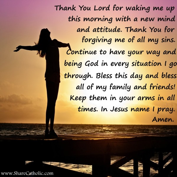 Thank You Lord For My Son Quotes: Thank You Lord For Waking Me Up This Morning With A New