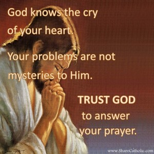 Trust God to answer your prayer