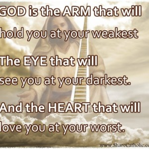 God is always looking out for you