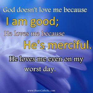 God's love is so wonderful