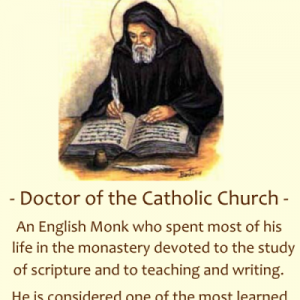 St. Bede (Feast Day – May 25th)