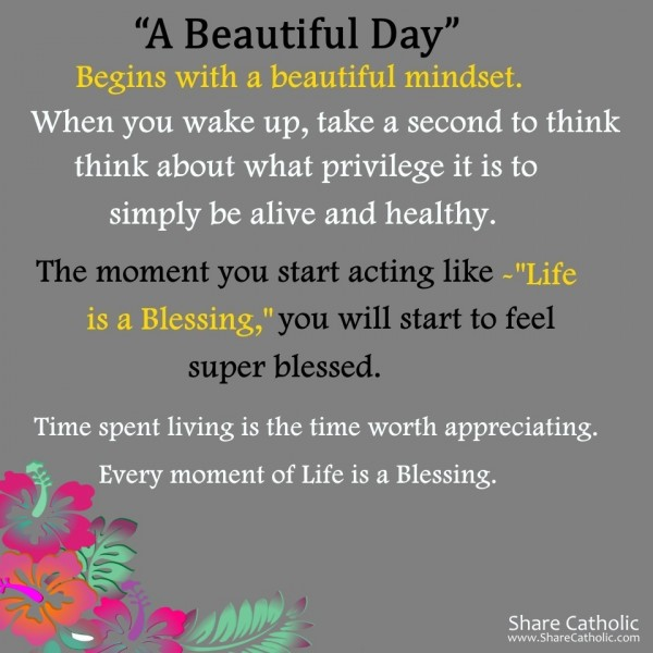 a beautiful day begins with a beautiful mindset quote - photo #11