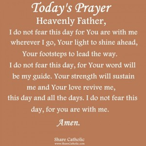 Lord, I thank you for being with me wherever I go