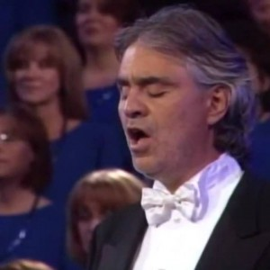 Beautiful Rendition Of The Our Father By Andrea Bocelli