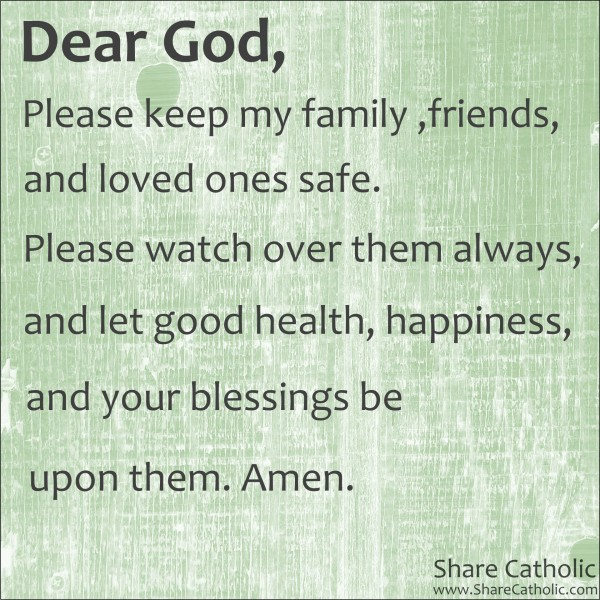 Prayer for good friends