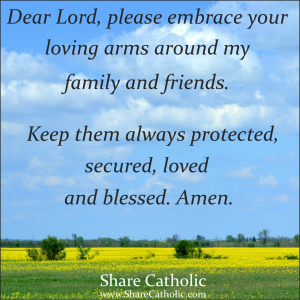 A Prayer for my loved ones