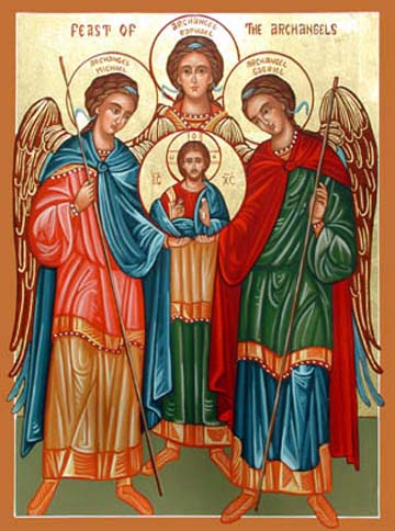 The Feast of Sts. Michael, Gabriel and Raphael
