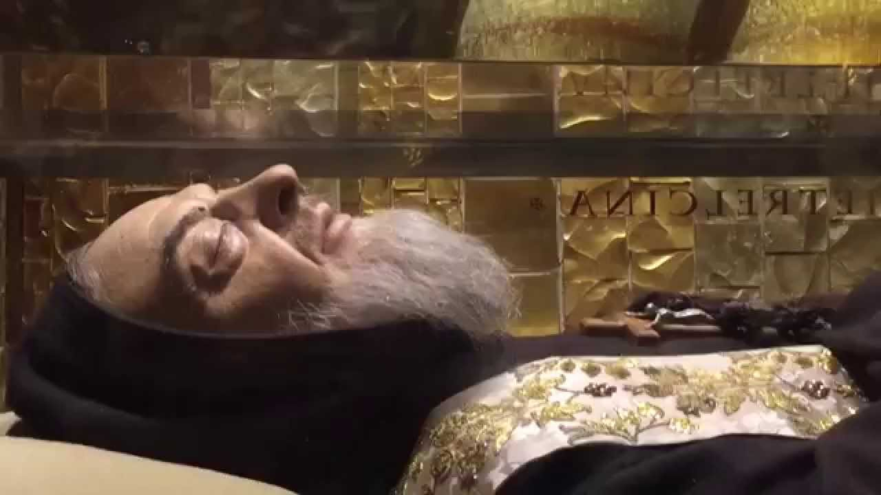 miracle of st padre pio his body miraculously preserved