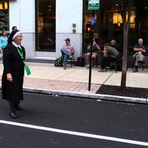 Watch this Amazing Nun play football on the streets of Philadelphia