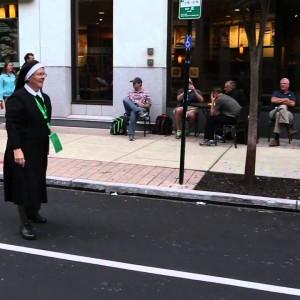 Watch this Amazing Nun play football on the streets of Philadelphia