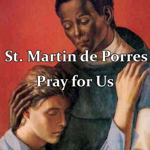 St. Martin de Porres (Feast Day – November 3)