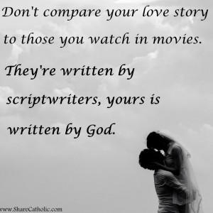 Your love story is written by God