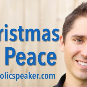 Christmas Peace does not come from a product, it comes from a person – Jesus Christ