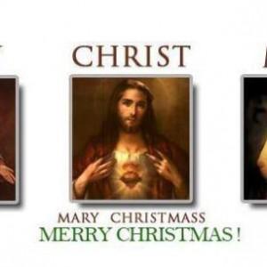 """Mary """"Christ"""" Mass ♡"""