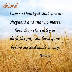 Lord, is my shepherd