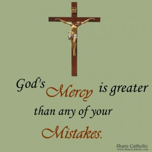 God's mercy is incredible