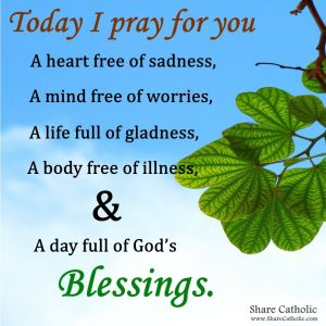 Today I pray for you
