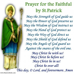 Prayer for the Faithful by St. Patrick
