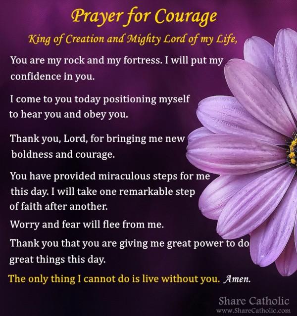 Catholic prayer love