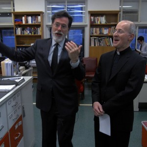 Stephen Colbert Talks About His Catholic Faith To Fr. James Martin