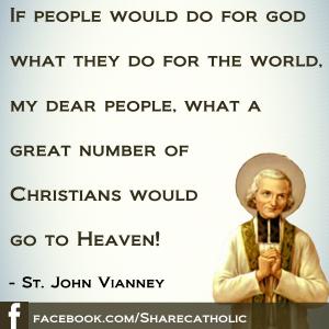 Happy Feast Day of St. John Vianney