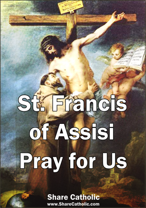 Blessed Feast Of St Francis Of Assisi October 4