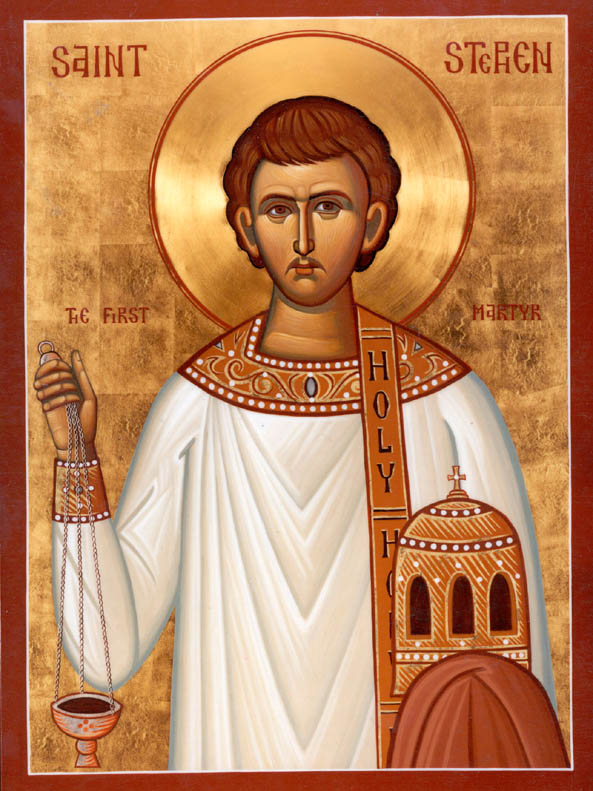 Happy Feast Day of St. Stephen (Feast Day – December 26th)