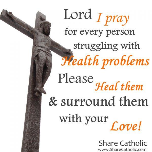 Prayer for the ill catholic