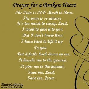 A Prayer for a Broken Heart