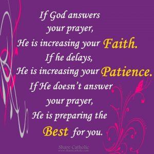 God always has something better for us