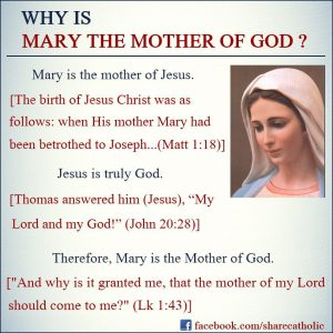 Why is Mary the Mother of God?