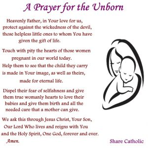 Praying for Your Unborn Child - Loving Life at Home |Prayer For Unborn Baby