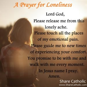 A Prayer for Loneliness