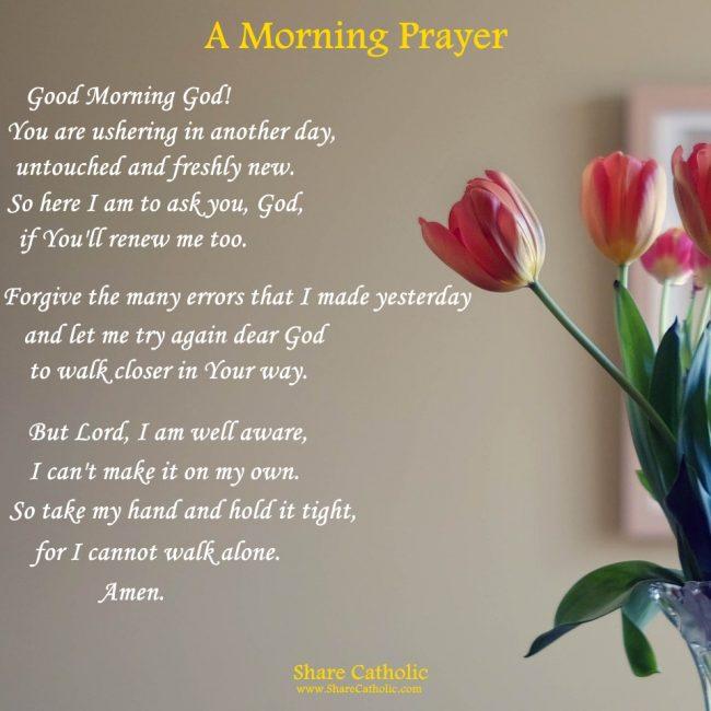 morning prayers archives share catholic sharing gods love