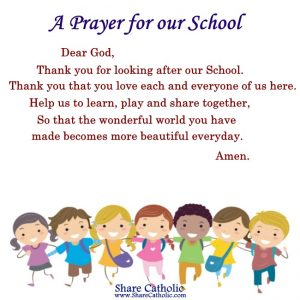 A Prayer for our School