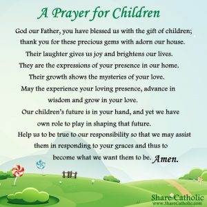 A Prayer for Children