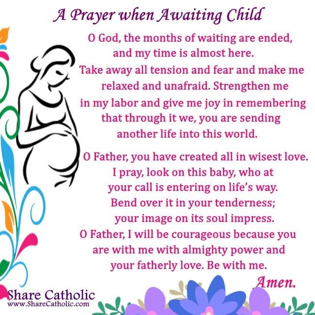 A Prayer when Awaiting Child