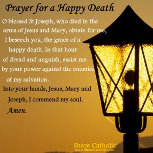 Prayer for a Happy Death