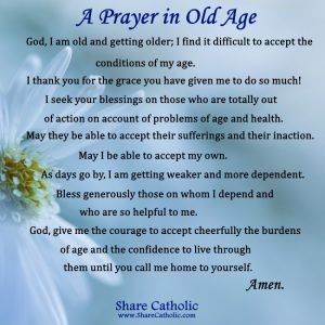 A Prayer in Old Age