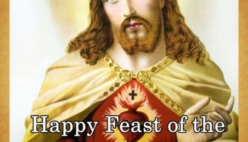 Happy Feast of the Sacred Heart of Jesus!