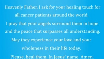 A Prayer for Cancer Patients