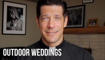 Why do we get married in Church and not outdoors?