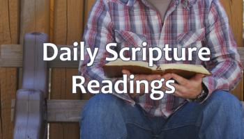 Mass Readings for November 18th, 2017