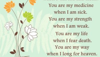 Prayer for Strength – Lord you are my Joy when I am alone
