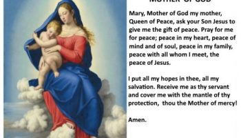 Happy Feast of Mary, the Mother of God