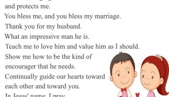 A Prayer for my Marriage