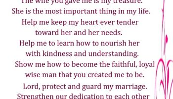 A Marriage Prayer for a Husband